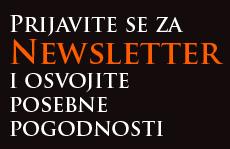 Prijavite se za newsletter