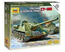 ZV: 6211 - SELF-PROPELLED GUN SU-100 1/100