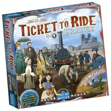 TICKET TO RIDE - FRANCE & OLD WEST MAP COLLECTION