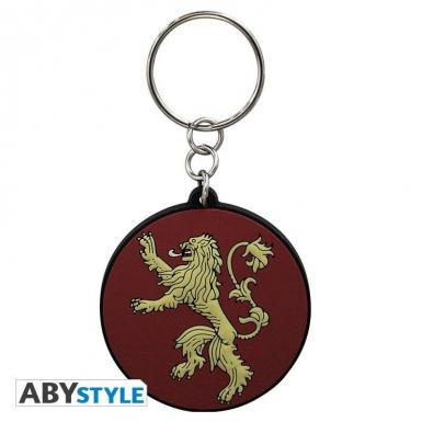 KEYCHAIN - GAME OF THRONES - PVC LANNISTER
