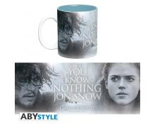 MUG - GAME OF THRONES - 460 ML - YOU KNOW NOTHING - WITH BOX