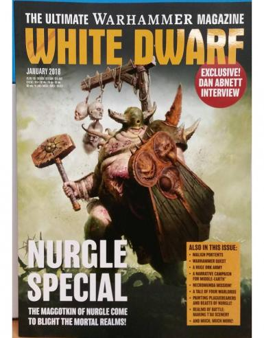 WHITE DWARF MONTHLY - JANUARY 2018 (BOOK)