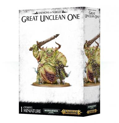 DAEMONS OF NURGLE - GREAT UNCLEAN ONE (BOX)
