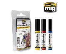 AMMO: 7504 - OILBRUSHER - BASIC COLORS SET