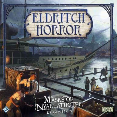 ELDRITCH HORROR - MASKS OF NYARLAHOTEP EXPANSION