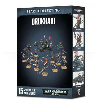 START COLLECTING! DARK ELDAR/DRUKHARI (BOX)
