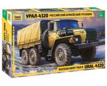 ZV: 3654 - URAL 4320 TRUCK 1/35