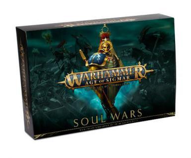 AGE OF SIGMAR - SOUL WARS STARTER SET (BOX)