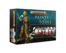 AGE OF SIGMAR - PAINTS+TOOLS (BOX)