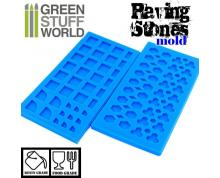 GSW: MODELLING - PAVING STONE SILICONE STAMP