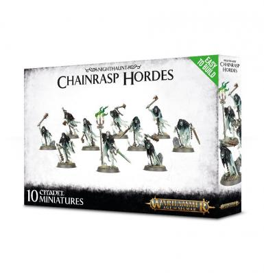 EASY TO BUILD NIGHTHAUNT - CHAINRASP HORDE