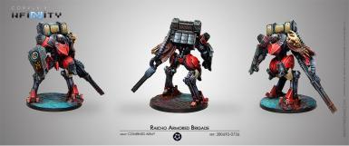 COMBINED ARMY - RAICHO ARMORED BRIGADE (BOX)
