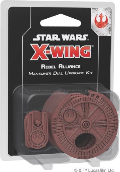 STAR WARS X-WING 2.0 - REBEL ALLIANCE MANEUVER DIAL UPGRADE