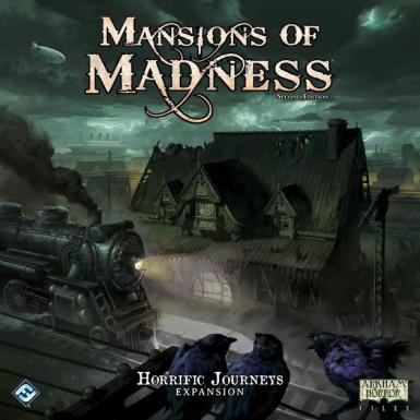 MANSIONS OF MADNESS 2ND. ED. - HORRIFIC JOURNEYS EXPANSION