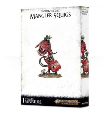 GLOOMSPITE GITZ - MANGLER SQUIGS (BOX)