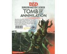 DUNGEONS & DRAGONS 5.0 - DUNGEON MASTERS SCREEN - TOMB OF ANNIHILATION