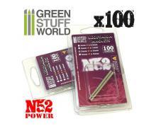 GSW: MODELLING - NEODYMIUM MAGNETS 3X0,5MM - SET X100 (N52)