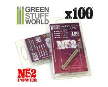 GSW: MODELLING - NEODYMIUM MAGNETS 3X1MM - SET X100 (N52)