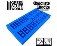 GSW: MODELLING - CONCRETE BLOCK SILICONE STAMP