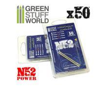 GSW: MODELLING - NEODYMIUM MAGNETS 3X1MM - SET X50 (N52)