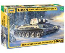 ZV: 3689 - T-34/76 MOD.1943 URALMASH 1/35