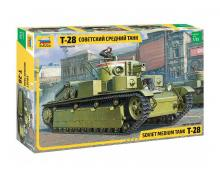 ZV: 3694 - T-28 HEAVY TANK 1/35