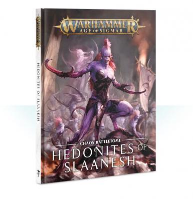 BATTLETOME - HEDONITES OF SLAANESH (BOOK)