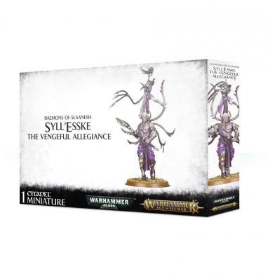DAEMONS OF SLAANESH - SYLL'ESSKE: THE VENGEFUL ALLEGIANCE (BOX)