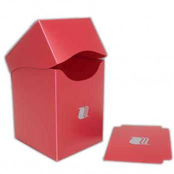 DECK BOX - BLACKFIRE - 100+ CARDS - RED