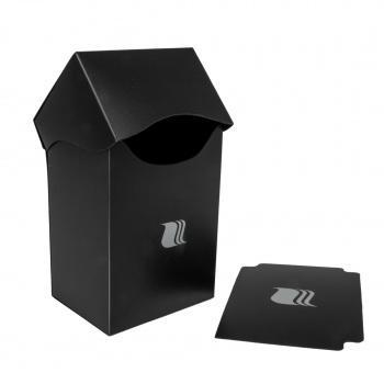 DECK BOX - BLACKFIRE - 80+ CARDS - BLACK