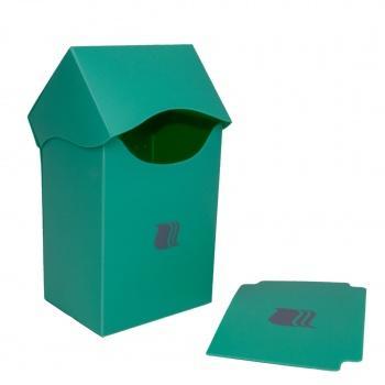 DECK BOX - BLACKFIRE - 80+ CARDS - LIGHT GREEN