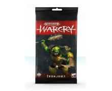 WARCRY - IRONJAWZ CARD PACK (CARDS)