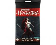 WARCRY - DAUGHTERS OF KHAINE CARD PACK (CARDS)