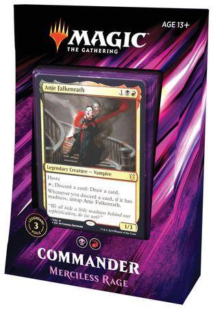 COMMANDER DECK 2019 - MERCILESS RAGE