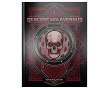 DUNGEONS & DRAGONS 5.0 - BALDURS GATE: DESCENT INTO AVERNUS ADVENTURE BOOK (ALT. COVER)