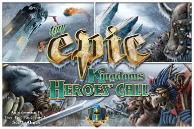 TINY EPIC KINGDOMS HEROES CALL 2ND ED.