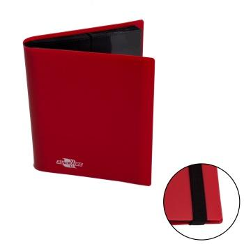 4 POCKET FLEXIBLE PORTFOLIO - BLACKFIRE - RED