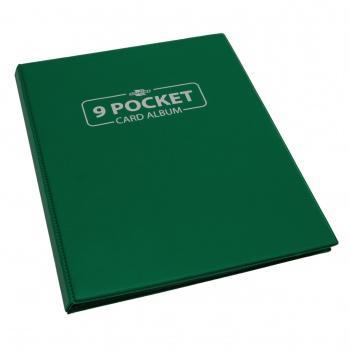 9 POCKET PORTFOLIO - BLACKFIRE - GREEN