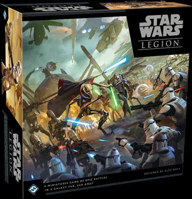 SWL: STAR WARS LEGION - CLONE WARS CORE SET