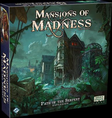 MANSIONS OF MADNESS 2ND. ED. - PATH OF THE SERPENT EXPASNION