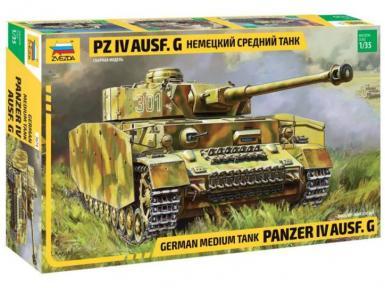 ZV: 3674 - PANZER IV AUSF.G 1/35
