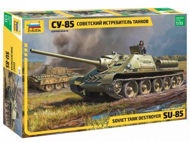 ZV: 3690 - SU-85 SELF PROPELLED GUN 1/35