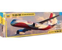 ZV: 7031 - TUPOLEV TU 204-100 CARGO 1/144