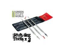 GSW: TOOLS - SCULPTING TOOLS SET X3