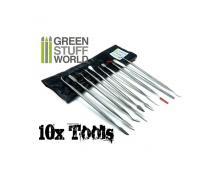 GSW: TOOLS - SCULPTING TOOLS SET X10