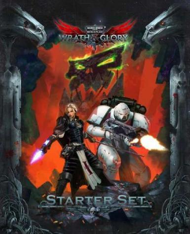WARHAMMER 40K - WRATH & GLORY RPG STARTER SET