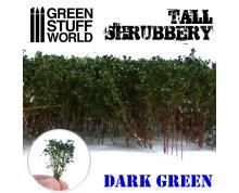 GSW: TUFT - TALL SHRUBBERY - DARK GREEN