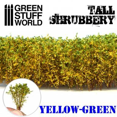 GSW: TUFT - TALL SHRUBBERY - YELLOW/GREEN