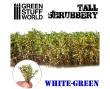GSW: TUFT - TALL SHRUBBERY - WHITE/GREEN