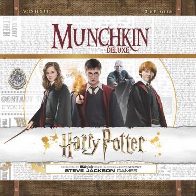 MUNCHKIN - HARRY POTTER DELUXE